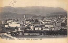 CPA 12 MILLAU VUE GENERALE ET LE PONT DE CUREPLATS - Millau