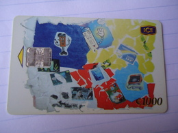 COSTA RICA USED CARDS PAINTING - Costa Rica