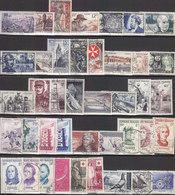 TRES BON LOT DE 94 TIMBRES OBLITERES DE FRANCE .1955/56/57.A SAISIR PETIT PRIX.COTE :150.00E PORT : 1.50E - Collections (sans Albums)