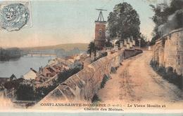 ¤¤  -    CONFLANS-SAINTE-HONORINE   -  Le Vieux Moulin   -  Chemin Des Moines   -  ¤¤ - Conflans Saint Honorine