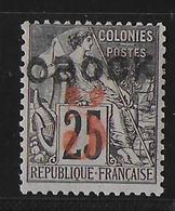 OBOCK  - YVERT N° 26 * - COTE = 30 EURO - Obock (1892-1899)