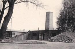 CPA GUERRE WW2 HOLOCAUSTRE SHOAH JEWISH JUIFS Déportation CAMP D' AUSCHWITZ Le CREMATOIRE 1 - War 1939-45