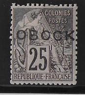 OBOCK  - YVERT N° 17 * - COTE = 45 EURO - Obock (1892-1899)