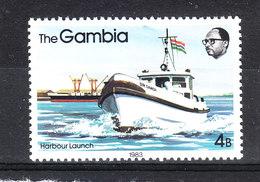 Gambia - 1983. Motovedetta. Patrol Boat. MNH - Barche