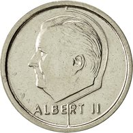 Monnaie, Belgique, Albert II, Franc, 1994, Bruxelles, TTB, Nickel Plated Iron - 1993-...: Albert II