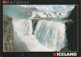 Island- Gullfoss - Waterfall - Nice Stamp - Island