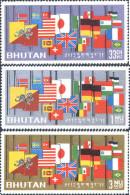 Ref. 292126 * HINGED *  - BHUTAN . 1964. MEMORIA DEL PRESIDENTE JOHN F. KENNEDY - Bhután