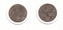 Isles  De France Et De Bourbon  Louis XVI 3 Sols 1779 A - Colonie