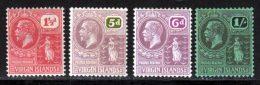 Iles Vierges 1922 Yvert 53 - 58 / 60 * TB Charniere(s) - Iles Vièrges Britanniques