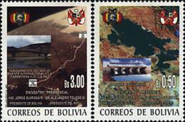 Ref. 87111 * NEW *  - BOLIVIA . 2002. ENCUENTRO PRESIDENCIAL DE LOS PRESIDENTES DE BOLIVIA Y DEL PERU - Bolivia