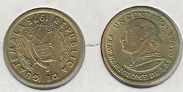 Guatemala  Un Centavo 1975 1c - Guatemala