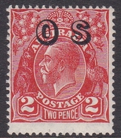 Australia SG O125 1932 King George V,2d Red,overprinted OS, Mint Never Hinged - 1913-36 George V: Heads