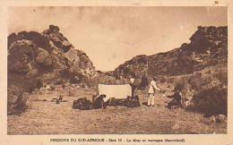 Lesotho        1        Basutoland.Mission Du Sud Afrique.Le Dîner En Montagne - Lesotho