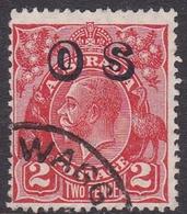 Australia SG O125 1932 King George V,2d Red,overprinted OS, Used - 1913-36 George V: Heads