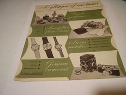 ANCIENNE PUBLICITE AFFICHE SOCIETE DES PRODUIT EUROPEEN  1960 - Bijoux & Horlogerie