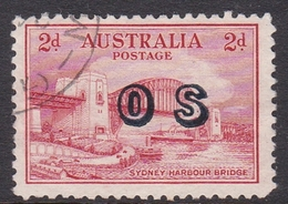 Australia SG O134 1932 2d Harbour Bridge,overprinted OS, Used - 1913-36 George V : Other Issues