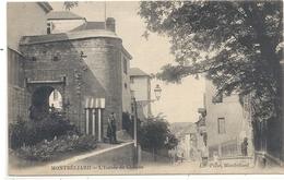 MONTBELIARD . L'ENTREE DU CHATEAU . ECRITE AU VERSO LE 19 SEPT 1922 - Montbéliard