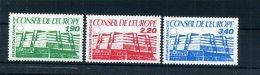 A29312)Frankreich Dienst - Europarat 40 - 42** - Service