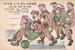 Vive La Classe Leve De Klas Militair Soldaat Verzonden Vanuit Asch As - As