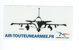204 - AUTOCOLLANT - ARMÉE DE L'AIR  FRANÇAISE - Stickers