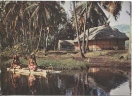 CPM - TAHITI - Photo Sylvain / Collection UTA - Edition SLM - Format Panoramique 15.5 X 11 - Tahiti