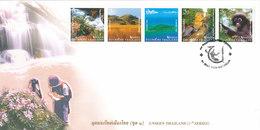 Thailand FDC 31-5-2004 Unseen Thailand 5 Stripes With Cachet 1st Series - Thailand