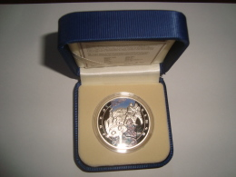 Armenien / Armenie / Armenia 2011, Judo 1000 Dram, Art Of Fighting, Sport, Silver Coin In Box - PROOF - Armenia