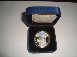 Armenien / Armenie / Armenia 2012, Karate 1000 Dram, Art Of Fighting, Sport, Silver Coin In Box - PROOF - Arménie