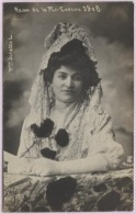 CPA - MADRID - REINA DE LA MI-CAREME 1908 - MLLE JULIETTE L. - Edition ? - Madrid