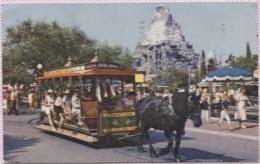 CPM - DISNEYLAND - HORSE-DRAWN STREETCAR - Edition US - Disneyland