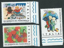 Italia 1979; Giornata Del Francobollo: Serie Completa Di Bordo Destro. - 6. 1946-.. Republic