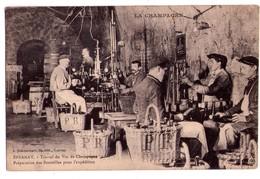 1899 - Epernay ( 51 ) - Travail Du Vin De Champagne - Préparation Des Bouteilles Pour L'expédition - J.Bracquemart - - Vines