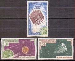 1963 Mauritania (Mauritanie) Space Exploration (3v) MNH (M-17) - Space