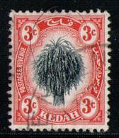 KEDAH 1912 - From Set Used - Kedah
