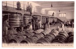 """1903 - 4 Cp Sur La Maison """" G.H. Mumm & Cie """" - Le Champagne Cp 4-8-5-6- - - Vines"""