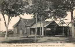 SAINTE LIVRADE SUR LOT - ESPLANADE ST MARTIN ET LE CASINO - Autres Communes