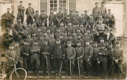 CARTE PHOTO - CAEN - Soldats Du 23e Et 38e Régiment D'infanterie - Caen