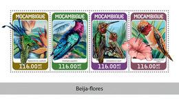 MOZAMBIQUE 2018 - Colibri. Official Issue - Hummingbirds