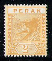 PERAK 1895 - From Set MLH* - Perak