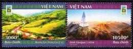 Vietnam - 2017 - National Tourism Year - Lao Cai Northwest Mountains - Mint Stamp Set - Vietnam