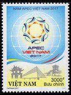 Vietnam - 2017 - Celebrating APEC Year - Mint Stamp - Viêt-Nam