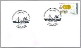 Rompehielos THALA DAN - Territorio Antartico Frances. Thurda 2005 - Barcos Polares Y Rompehielos