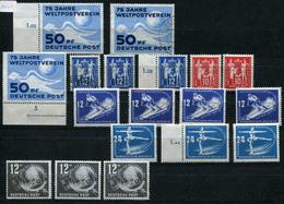 DDR Dubletten-Lot Gestempelt, Postfrisch, Wenige Gefalzt .... (G 2) - Briefmarken