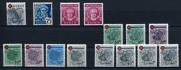 ALL. BESETZUNG/ FRZ. ZONE Dubletten-Lot Gestempelt, Postfrisch, Wenige Gefalzt .... (G 4) - Briefmarken