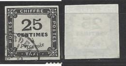 Francia - 1871 - Usato/used - Segnatasse - Mi N. 5 - 1859-1955 Afgestempeld