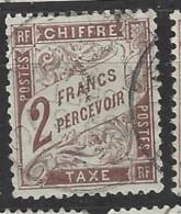 Francia - 1884 - Usato/used - Segnatasse - Mi N. 25 - Segnatasse