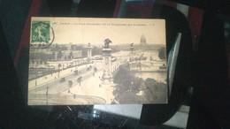 CPA - 180. PARIS Le Pont Alexandre III Et L'esplanade Des Invalides - Ponts
