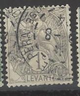 Francia - Levante - 1902 - Usato/used - Allegoria - Mi N. 8 - Levant (1885-1946)