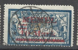 Memel - 1921 - Usato/used - Sovrastampati - Mi N. 38 - Memel (1920-1924)