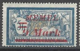 Memel - 1922 - Nuovo/new MH - Sovrastampati - Mi N. 71 - Ungebraucht